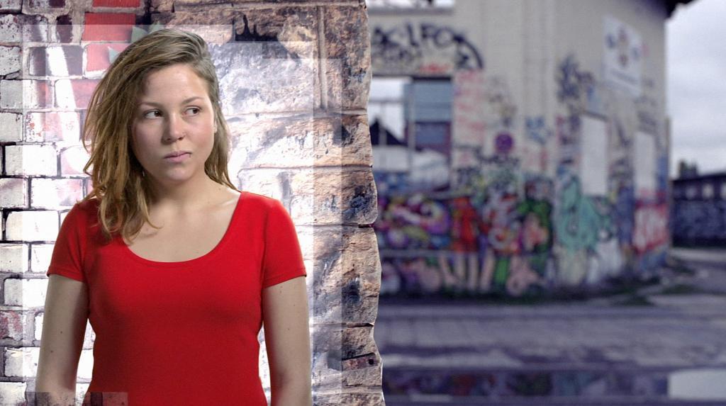 "Mieke ""Mieze"" Lutze (Franziska van der Heide). Foto: RTL"